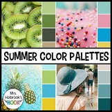Color Palettes - Summer