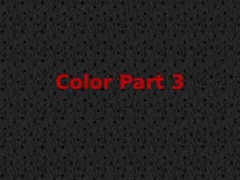 Color Part 3