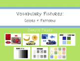 Vocabulary Pictures: Color/Pattern