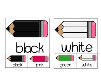 Color Pencil Match