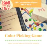 Color Picking M&M Game - ESL Conversation Classes | Distan