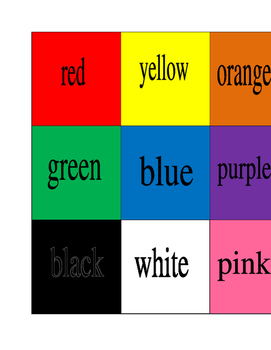 Color Picture Dictionary