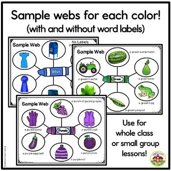 Color Recognition Picture Web Bundle