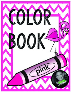 Color Pink Book