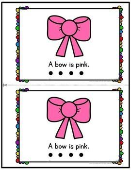 Color Pink Emergent Reader