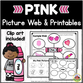 Color Pink Picture Web Activity