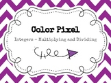 Color Pixel - Integers (Multiplying and Dividing) - DIGITAL