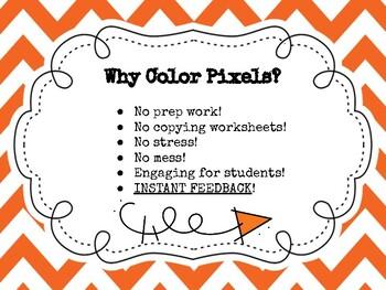 Color Pixel (Sentence Structure) - DIGITAL