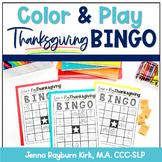 Color & Play: Thanksgiving BINGO