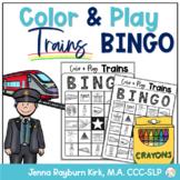 Color & Play: Trains BINGO