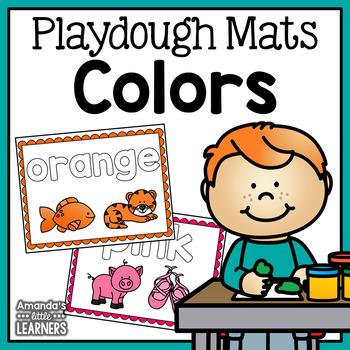 Color Playdough Mats