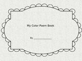Color Poem Coloring Activity
