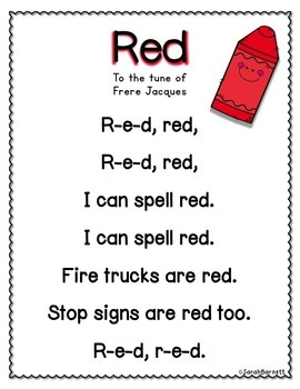 Color Poem Posters!
