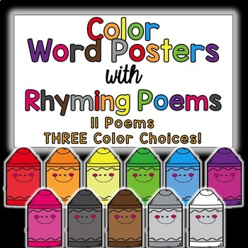 Color Poem Posters!