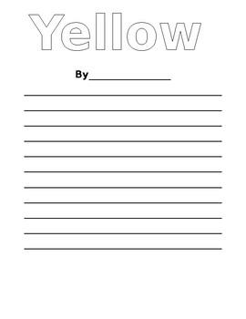 Color Poem Publishing Paper