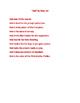 Color Poem Template