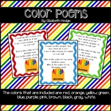 Color Poems- 11 colors included!