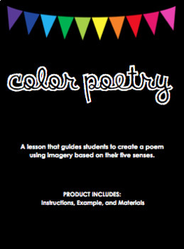 Color Poems- Lesson Materials
