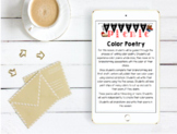 Color Poetry Lesson