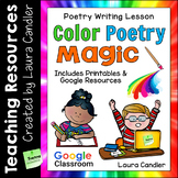 Color Poems | Poetry Writing Activity with Google Classroo