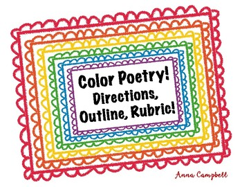 Color Poetry Outline & Rubric