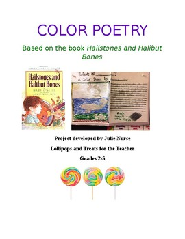 Color Poetry based on Hailstones and Halibut Bones