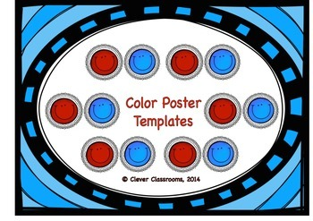 Color Poster Templates
