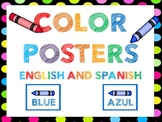 Color Posters Spanish and English