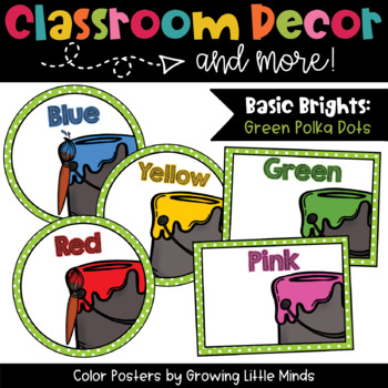 Labels: Color Posters- green