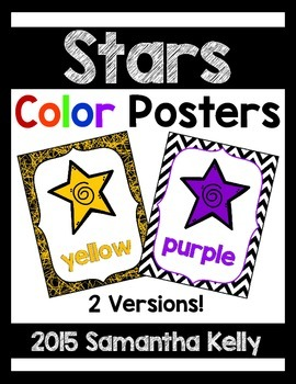 Stars Color Posters