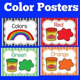 Color Posters Kindergarten