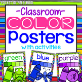 Bright, Rainbow Color Posters