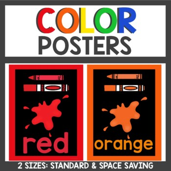 Color Posters featuring Melonheadz Kids