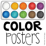 Color Posters {Polaroid Style}