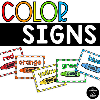 Color Signs