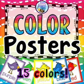 Color Posters Birds