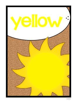 Color Posters - Cork Board Basics