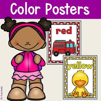Color Posters (Back to School / Classroom Decor)