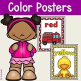 Color Posters for Kindergarten (Color Posters for Classroom Decor)