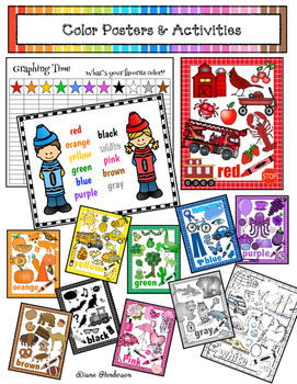 Fun With Colors! Posters & Activities