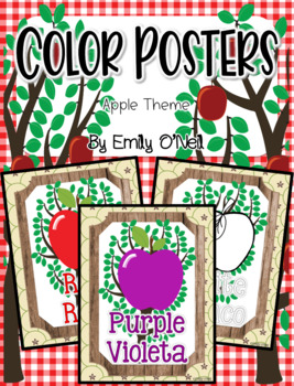 Color Posters (Apple Theme)