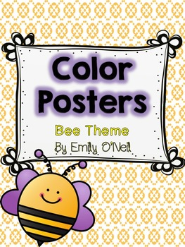 Color Posters (Bee Theme)