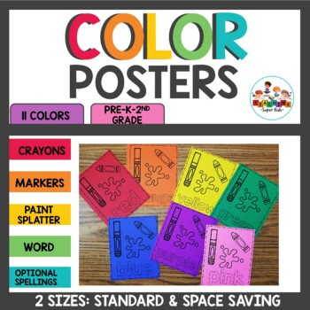 Color Posters Black and White