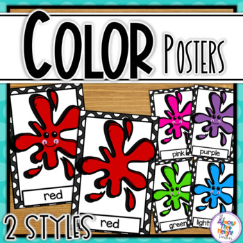 Color Posters - Black and White Polka Dot theme