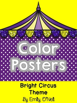Color Posters (Bright Circus Theme)