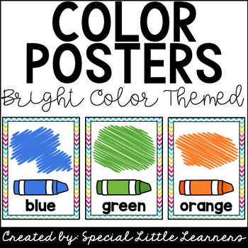 Color Posters (Bright Color Themed)