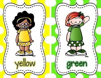 Color Posters {Bright Polka Dot}