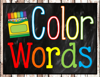 Color Posters Cactus Classroom Decor