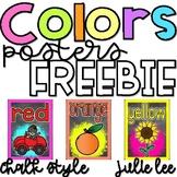Color Posters Chalk FREEBIE