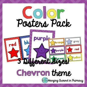 Color Posters - Chevron